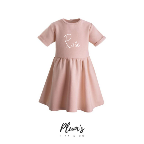 """Rose"" Fleece Dress"