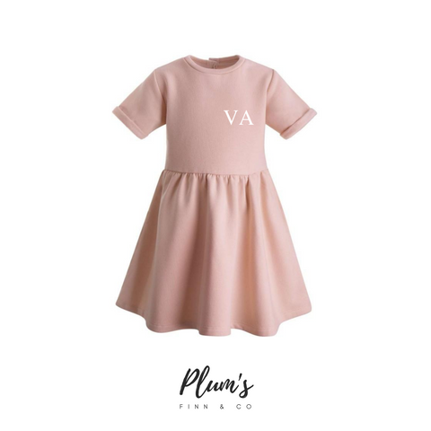 """VA"" Fleece Dress"