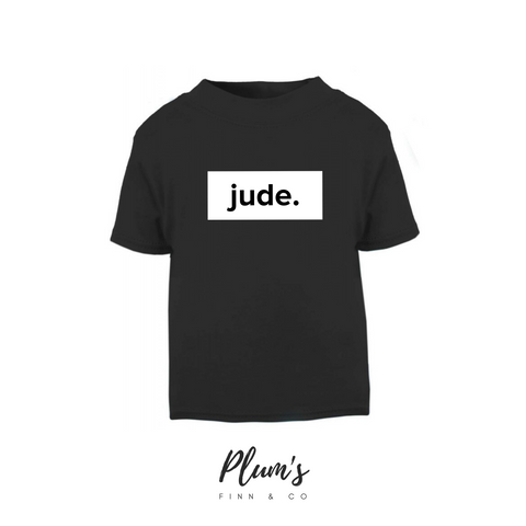 """Jude."" Short Sleeve T-Shirt"