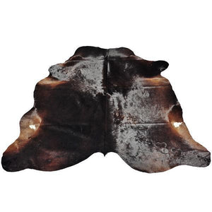 Real Leather Cowhide Cow14 by Rug Factory Plus