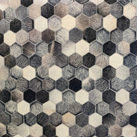 Geometric Flat Weave Vegan Patchwork Area Rug