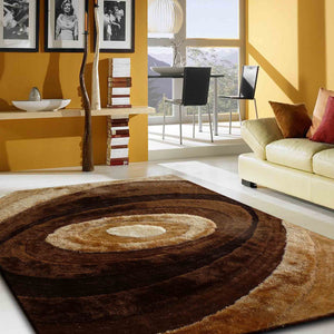 Luxurious Hand Carved Vibrant Living Shag 105 Area Rug by Rug Factory Plus