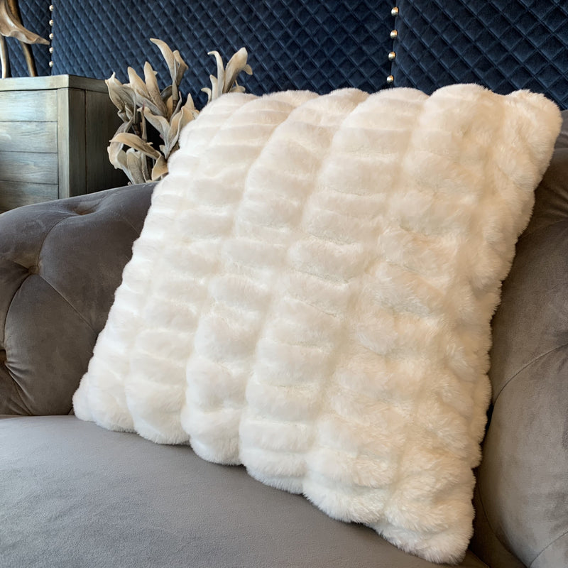 Luxurious Hand Crafted Faux Fur Nuevo Pillow by Rug Factory Plus