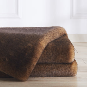 Soft Cozy Durable Faux Fur Whisper Area Rug by Rug Factory Plus