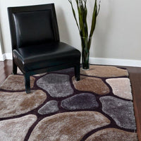 Durable Hand Carved Heavy Rock Shag Area Rug by Rug Factory Plus