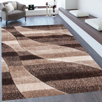 "Three Dimensional Plush Hand Carved Appx. 2"" Pile Sorrento 724 Shag Area Rug by Rug Factory Plus"