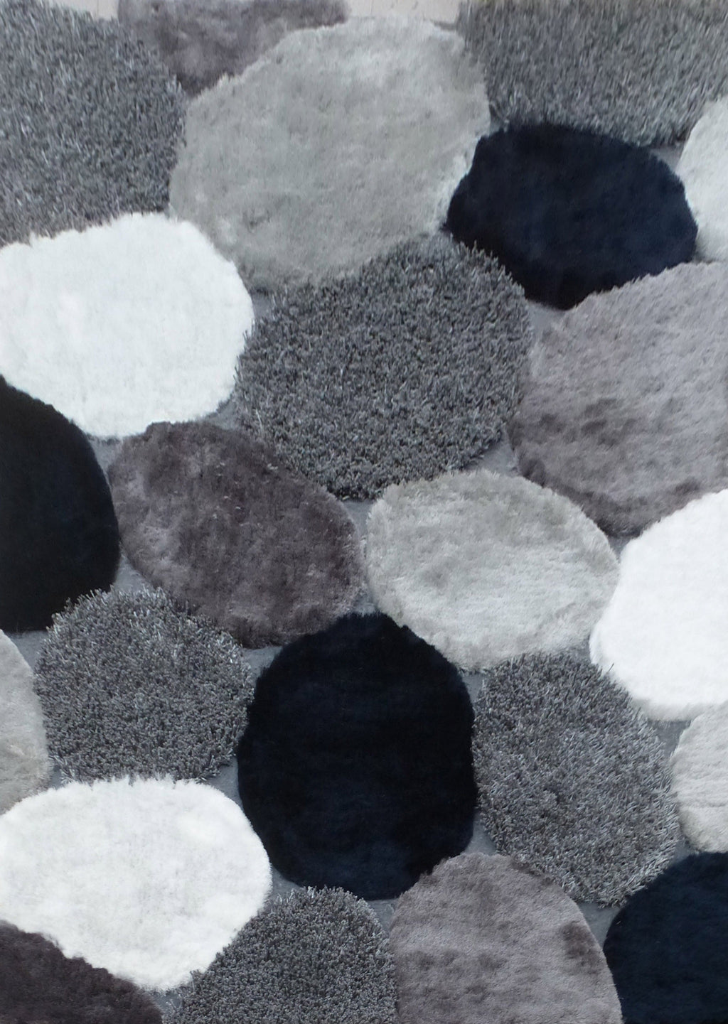 Hand Tufted Multi-textural Designer Shag S.V.D. 25 Area Rug by Rug Factory Plus