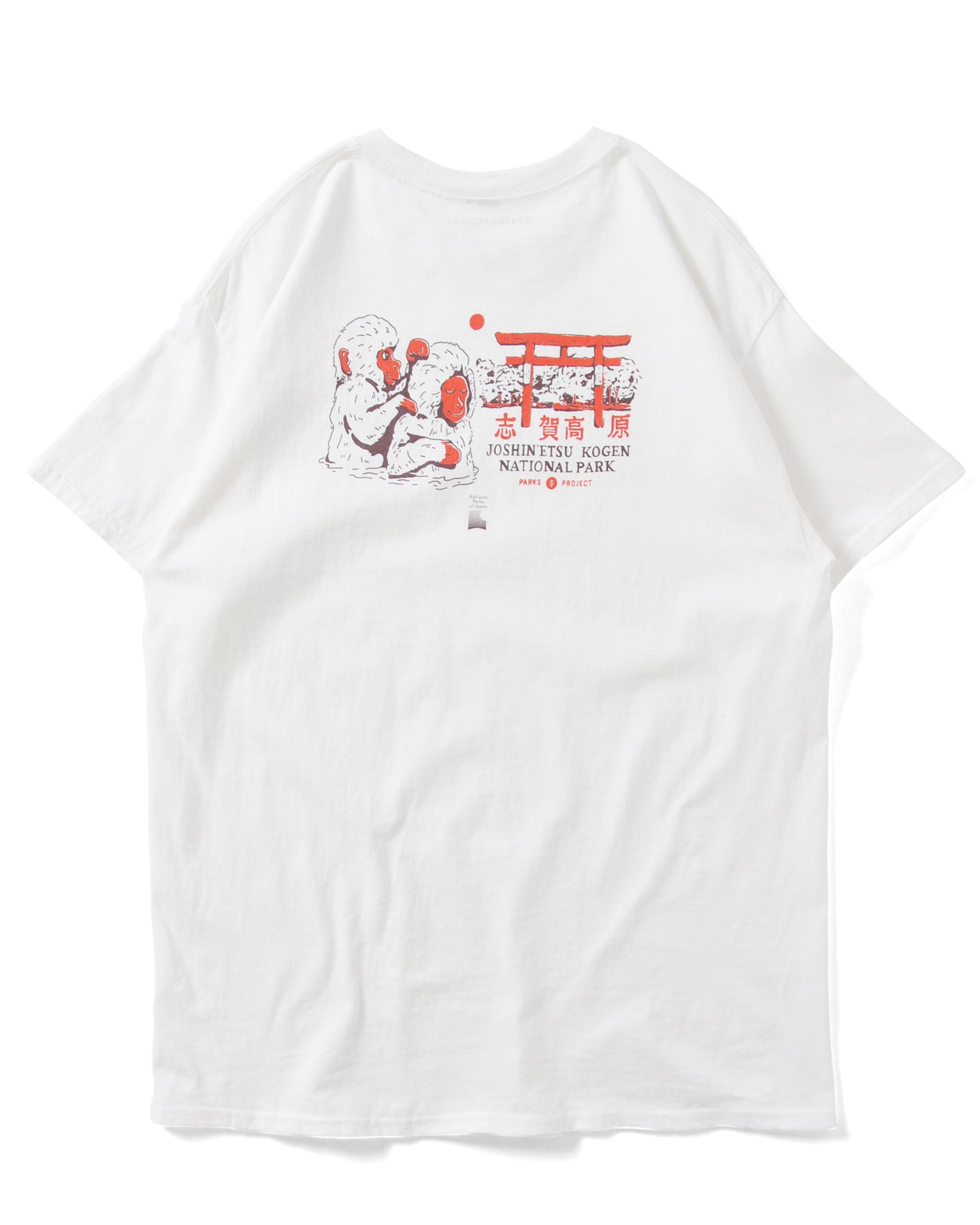PARKS PROJECT SNOW MONKEY TEE|21SU-007