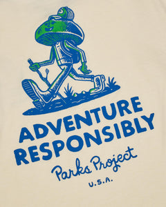PARKS PROJECT Adventure Responsibly Ringer Tee | PP001053