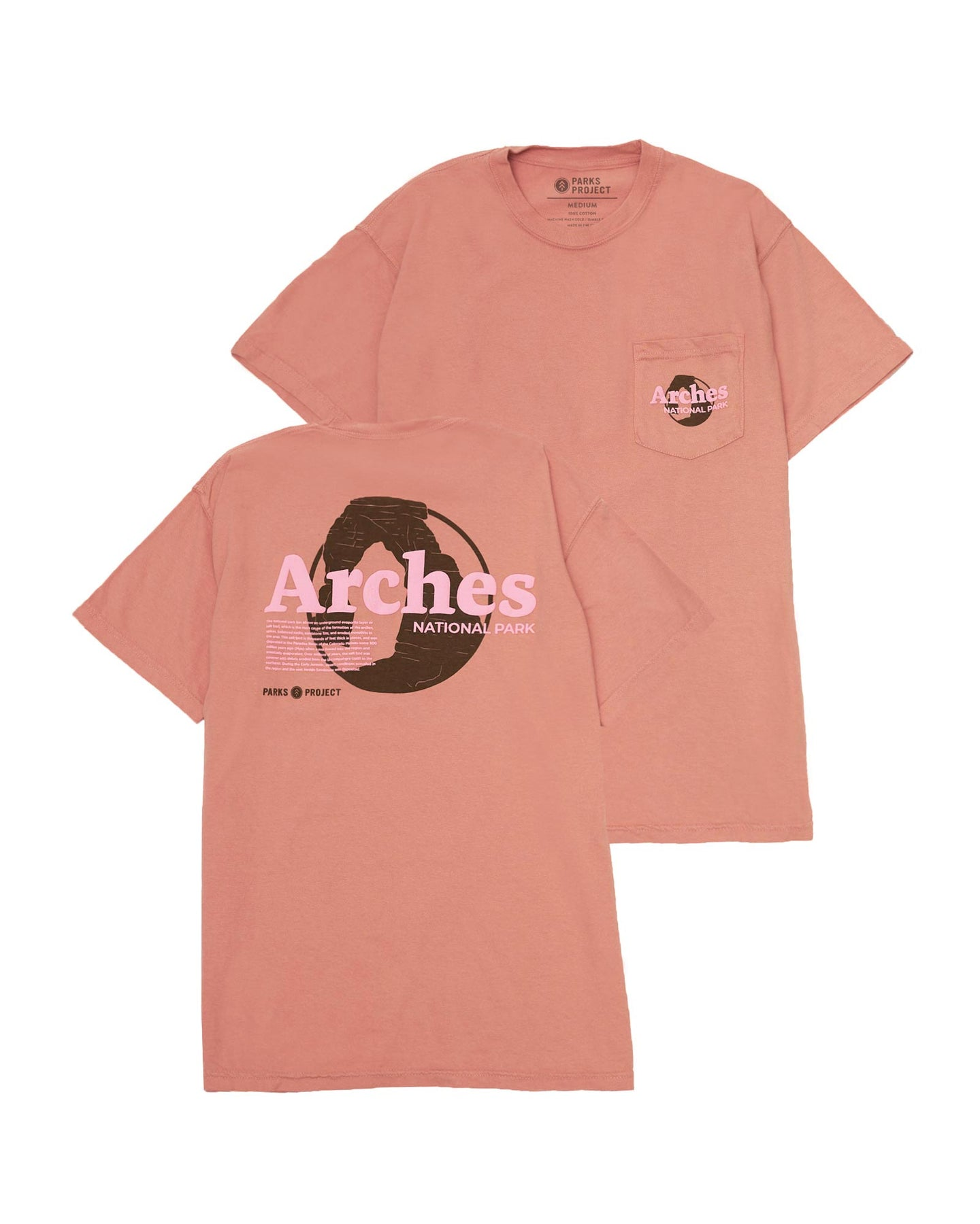 PARKS PROJECT Arches Puff Print Pocket Tee | AS001002