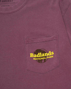 PARKS PROJECT Badlands Puff Print Pocket Tee | BL001002