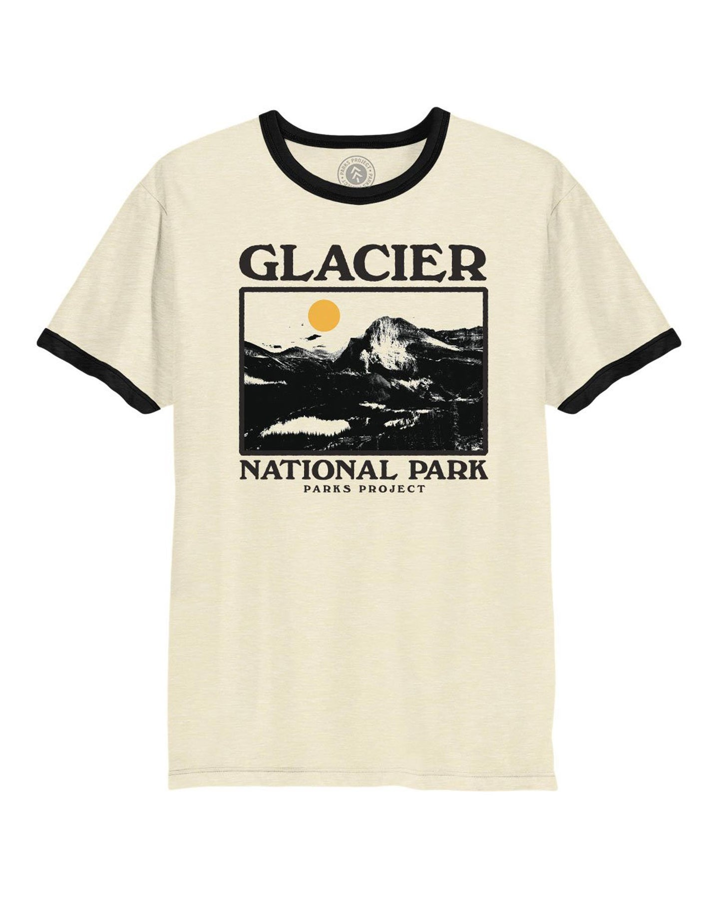 Glacier Photo Ringer Tee GL01005