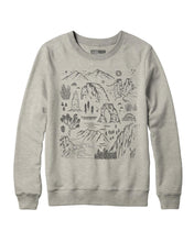 画像をギャラリービューアに読み込む, PARKS PROJECT ICONIC NATIONAL PARKS CREWNECK|TC04015