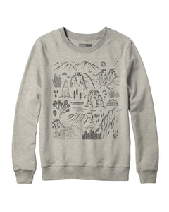 PARKS PROJECT ICONIC NATIONAL PARKS CREWNECK|TC04015