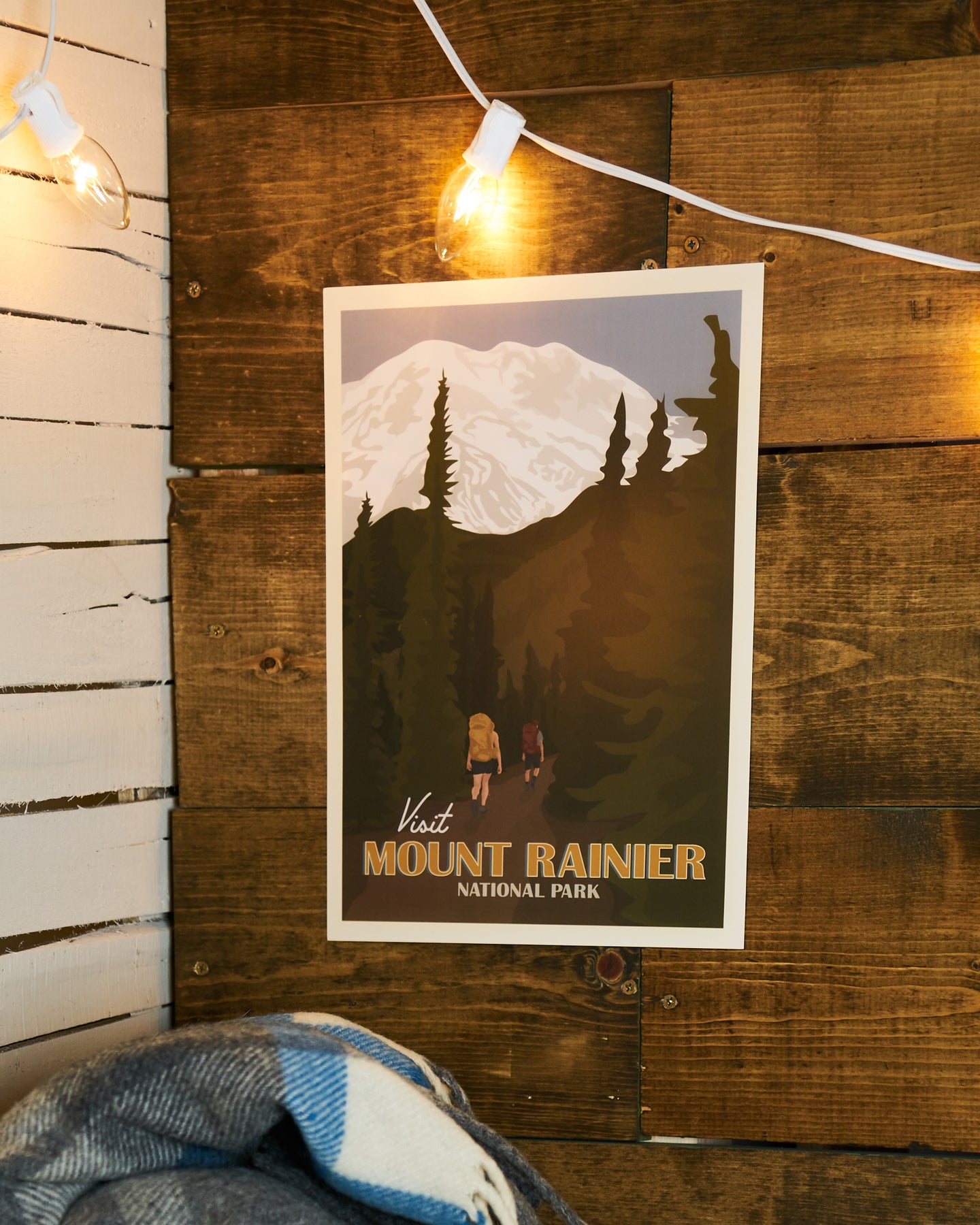 Visit Mount Rainier National Park Poster AXSPP038
