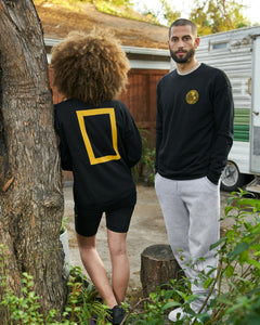National Geographic X Parks Project Nat Geo Border Crew Neck Fleece SP20-85