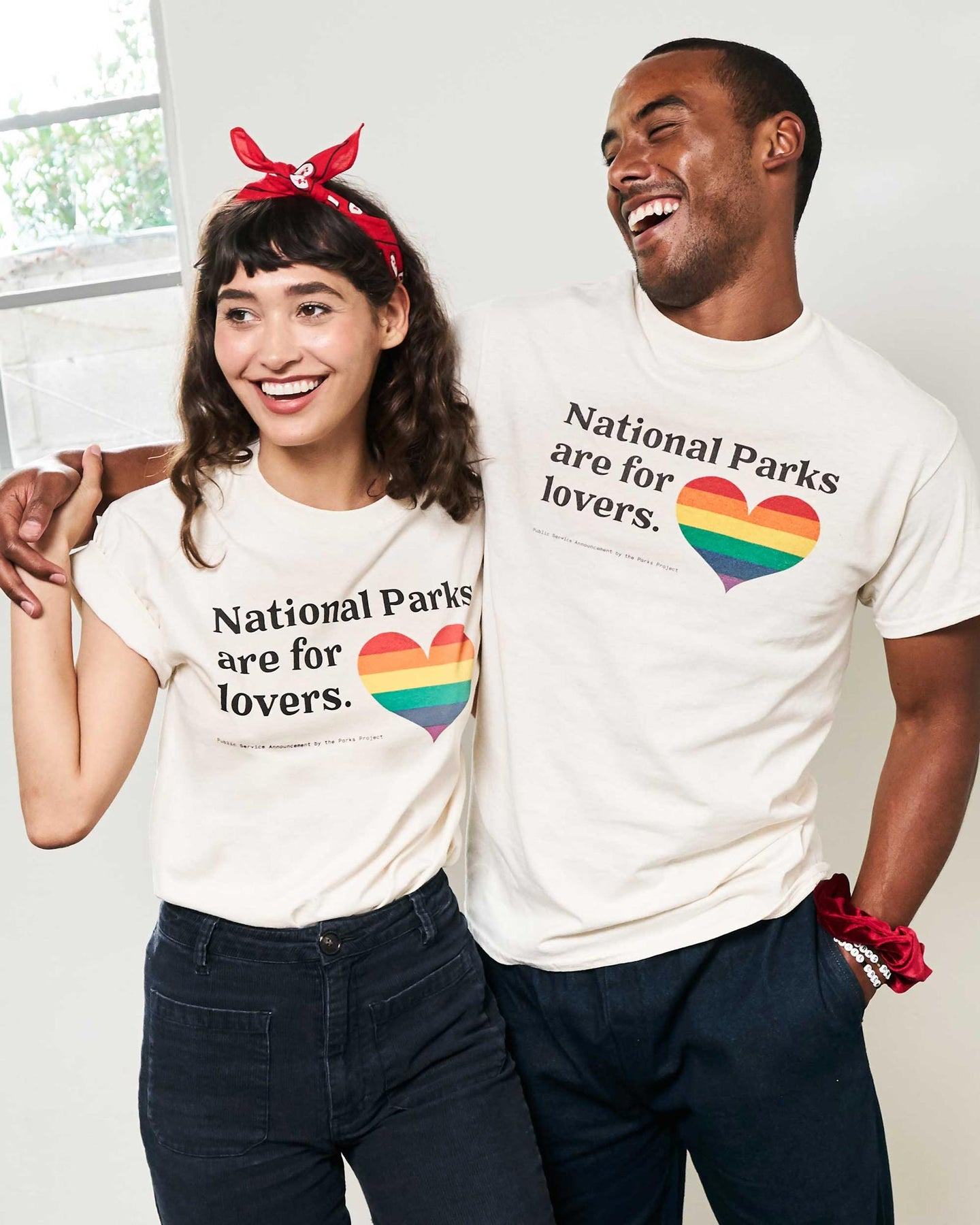Parks For Lovers Pride Tee TC01060