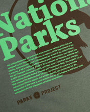 画像をギャラリービューアに読み込む, PARKS PROJECT Our National Parks Puff Print Pocket Tee| AP001010