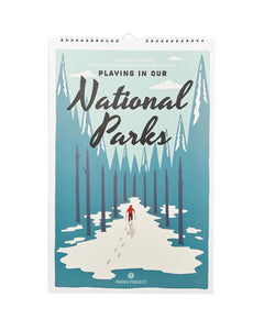 Playing In National Parks Calendar PPCAL02