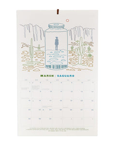 Protect Our National Parks 2020 Embossed Wall Calendar PPCAL03