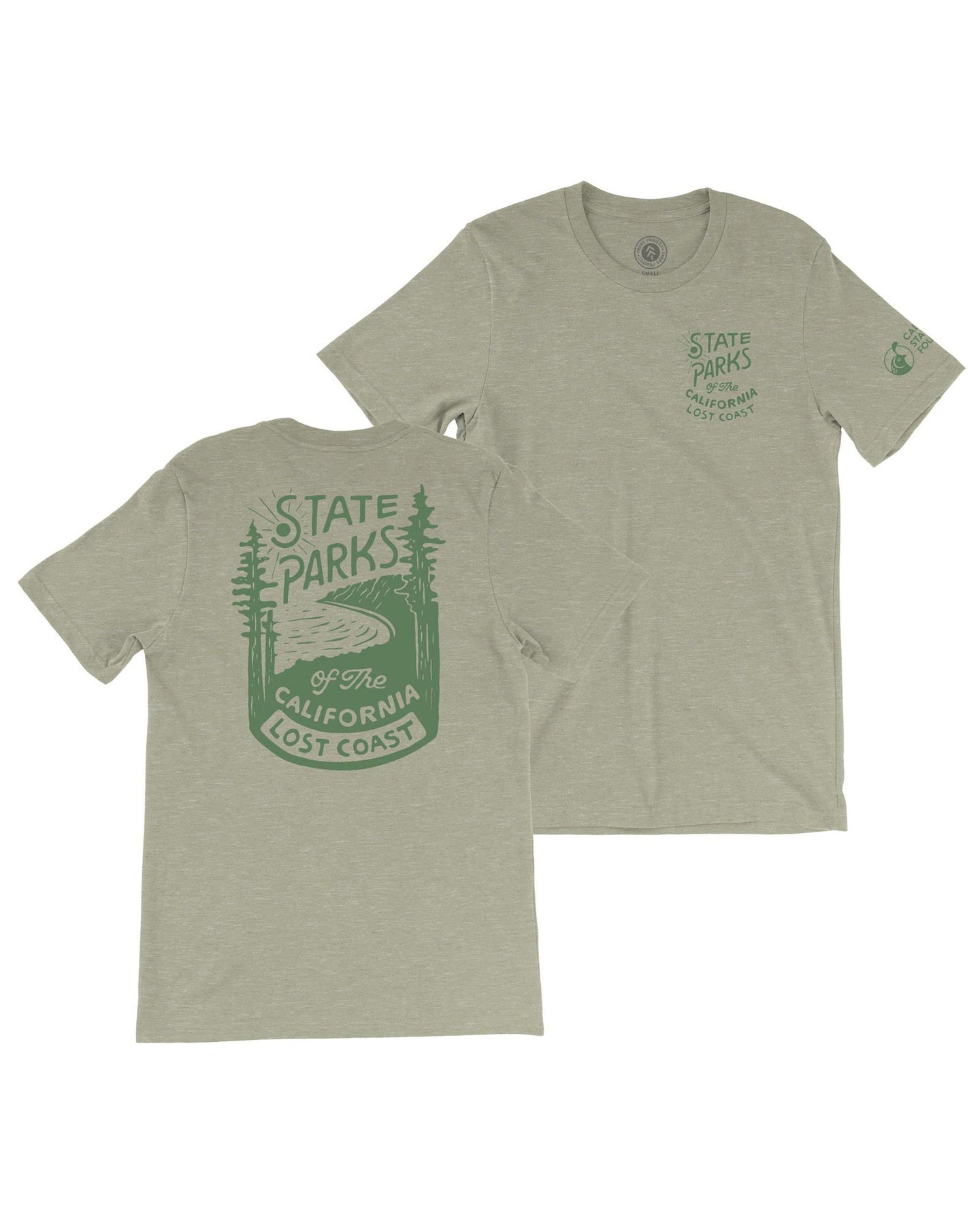 State Parks Of The Lost Coast Tee TC01065