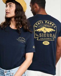 PARKS PROJECT State Parks Of Sierras Tee TC01066