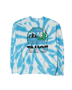 PARKS PROJECT Tahoe Zoom Tie dye Crewneck Sweat Shirt | TA007002