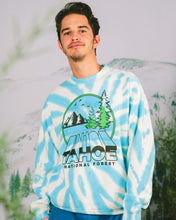 画像をギャラリービューアに読み込む, PARKS PROJECT Tahoe Zoom Tie dye Crewneck Sweat Shirt | TA007002