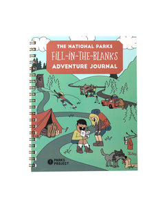 Fill In The Blanks Adventure Book AXSTC075
