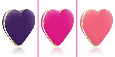 "Heart Shaped ""Heart Vibe"" Vibrator from Rianne S. - She's a Powerful Little Cutie!"