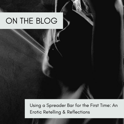 Using a Spreader Bar for the First Time: An Erotic Retelling & Reflections