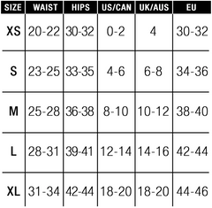 Sportsheets Size Chart