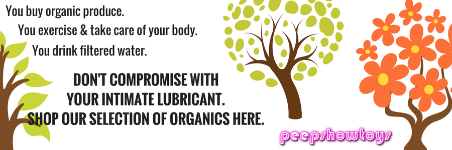 Organic Intimate Sex Lube Lubricants for Adults Body-Safe
