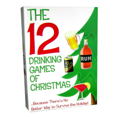 12 Drinking Games of Christmas  Adult Games Kheper Games Peepshow Toys