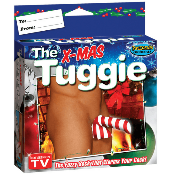 The X-Mas Candy Cane Tuggie  Lingerie Pipedreams Peepshow Toys