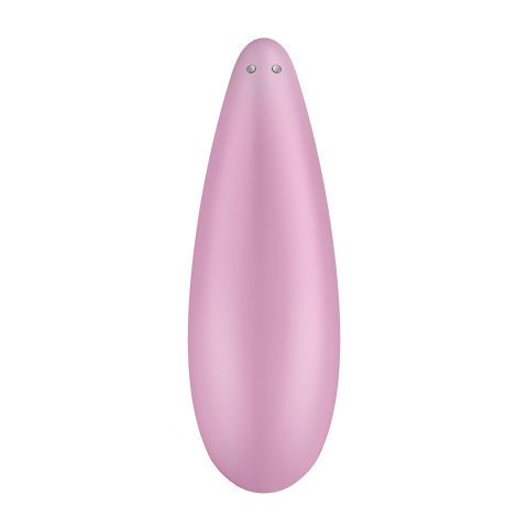 Satisfyer Curvy 3+ Clitoral Air Stimulator with Long-Distance App Control - Hamilton Park Electronics