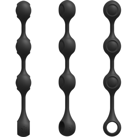 Doc Johnson Kink Weighted Silicone Anal Balls - Hamilton Park Electronics