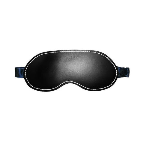 Edge Black Leather Blindfold - Hamilton Park Electronics