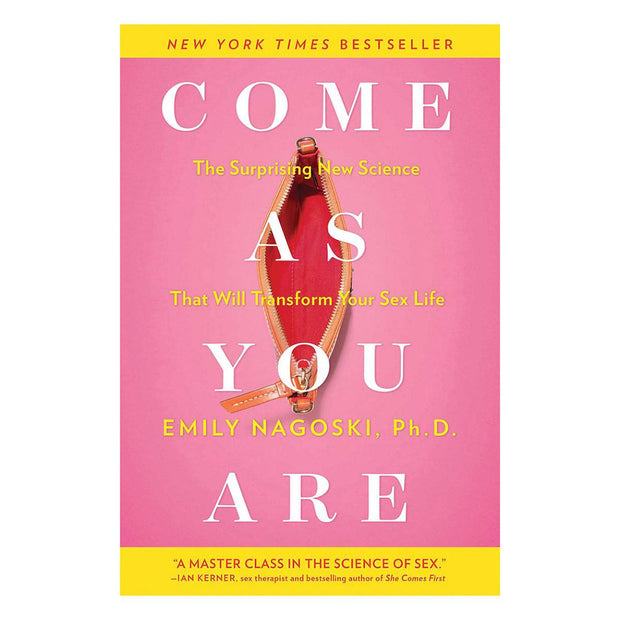 Come As You Are by Emily Nagoski Ph.D.  Book Simon & Schuster Peepshow Toys