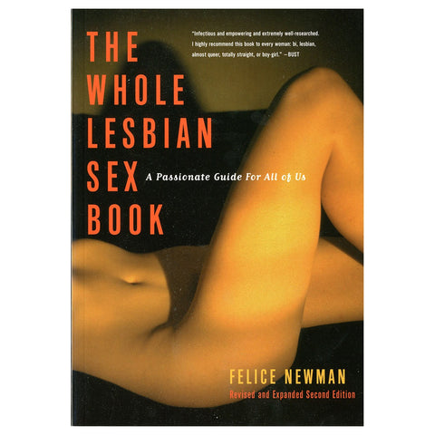 Whole Lesbian Sex Book  Book Cleis Press Peepshow Toys