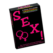 Lesbian Sex Card Game  Adult Games Kheper Games Peepshow Toys