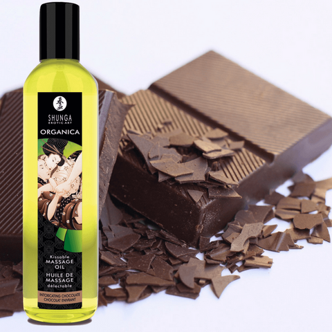 Organica Kissable Massage Oil - Chocolate