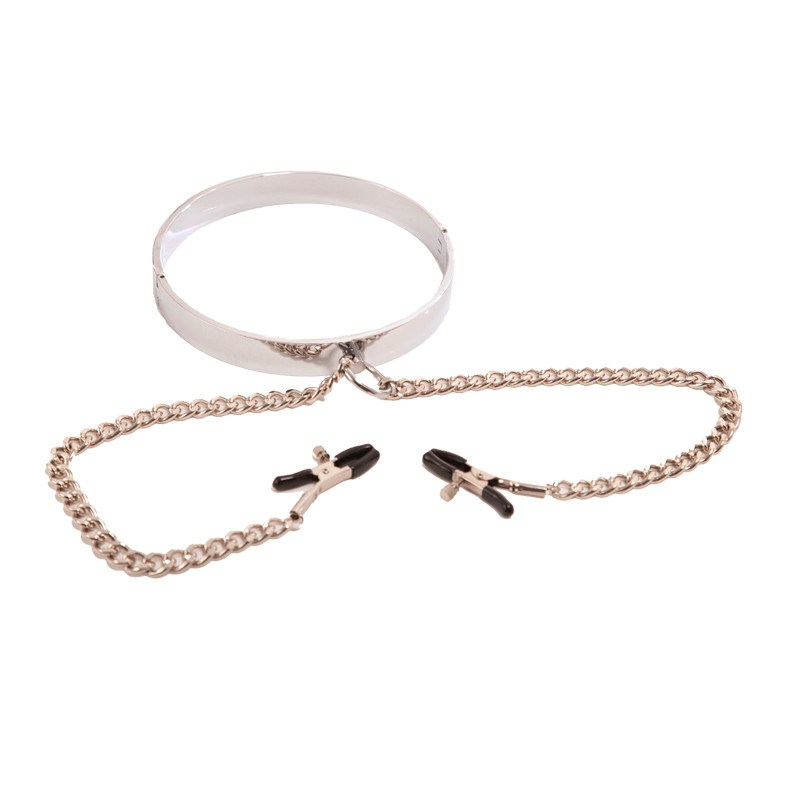 Stainless Steel Collar With Nipple Clamps