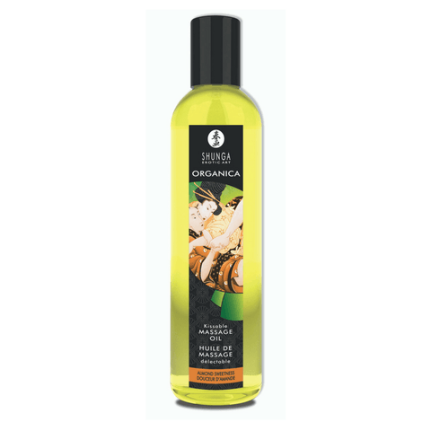 Organica Kissable Massage Oil - Almond Sweetness