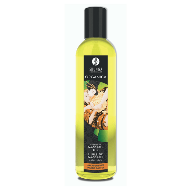Organica Kissable Massage Oil - Almond Sweetness  Massage Oil Shunga Peepshow Toys