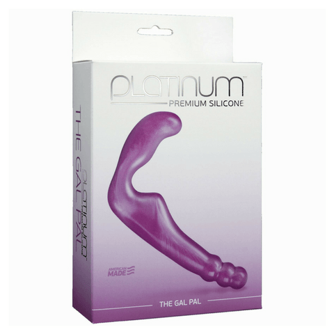 Platinum Premium Silicone Gal Pal Strapless Strap-on from Doc Johnson - Hamilton Park Electronics