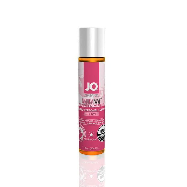 System Jo Strawberry Flavored Organic Lubricant
