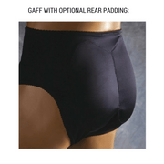 Transform® Lace Gaff (Black / With Or Without Rear Padding)
