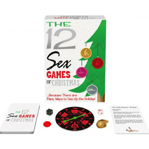 12 Sex Games of Christmas  Adult Games Kheper Games Peepshow Toys