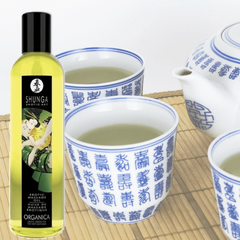 Organica Kissable Massage Oil - Exotic Green Tea